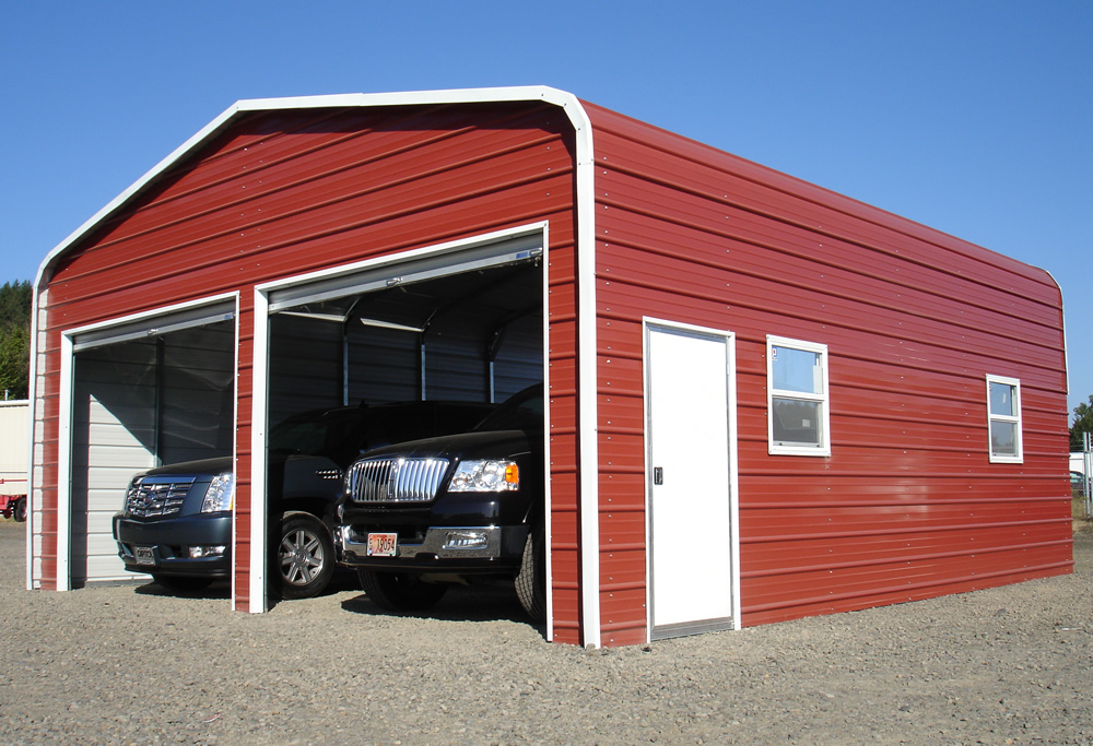 West coast metal buildings home carports garages for Garage building cost estimator