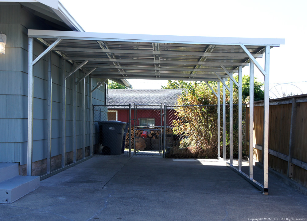 West Coast Metal Buildings Lean To B Carports Garages